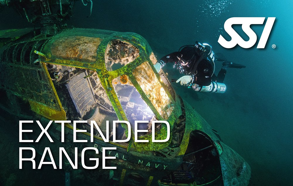 Extended Range Ssi course in Mauritius