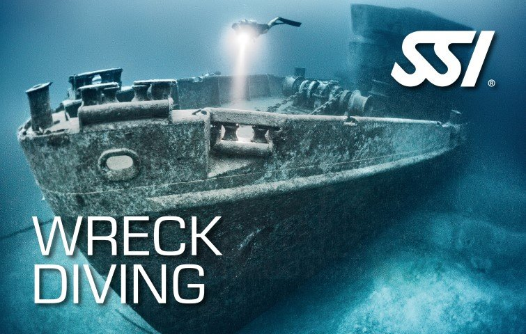 wreck diving Ssi course in Mauritius