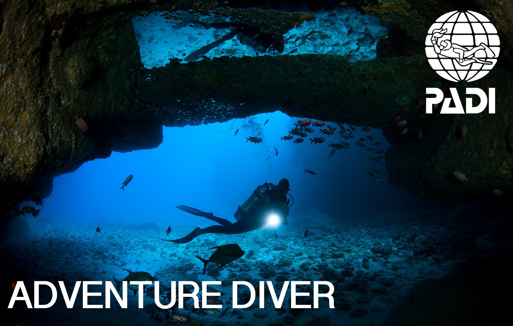 PADI adventure diver course in Mauritius