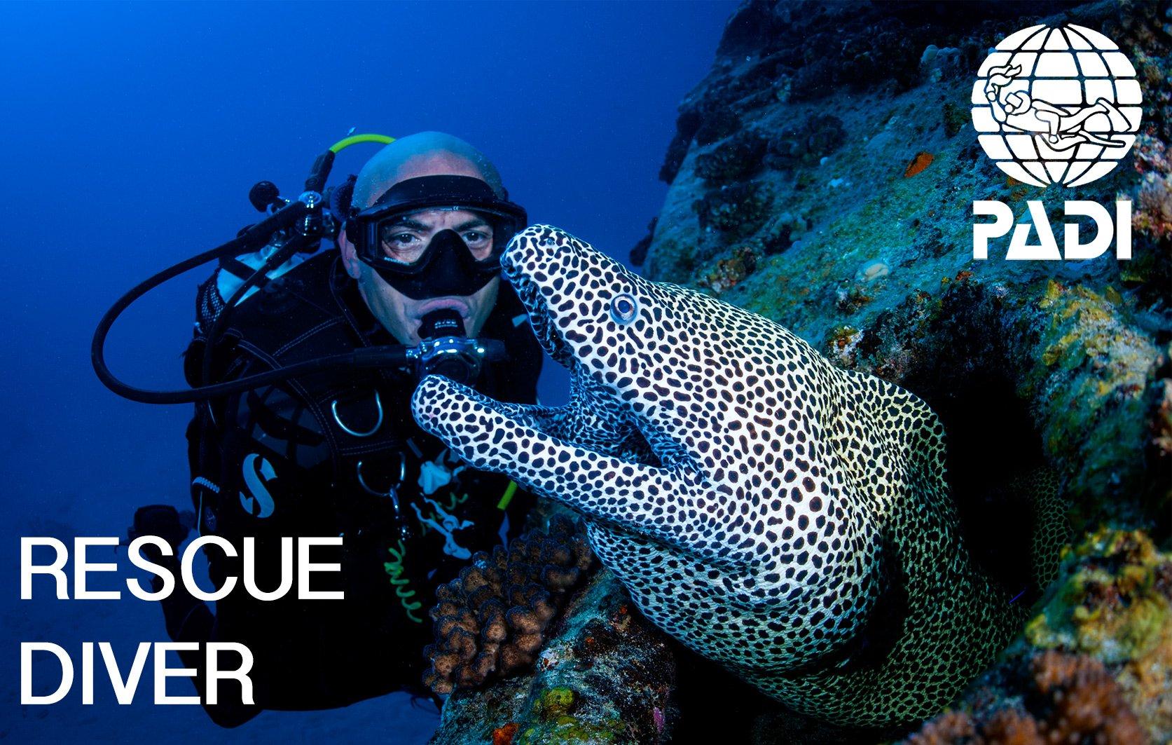 PADI rescue diver course in Mauritius