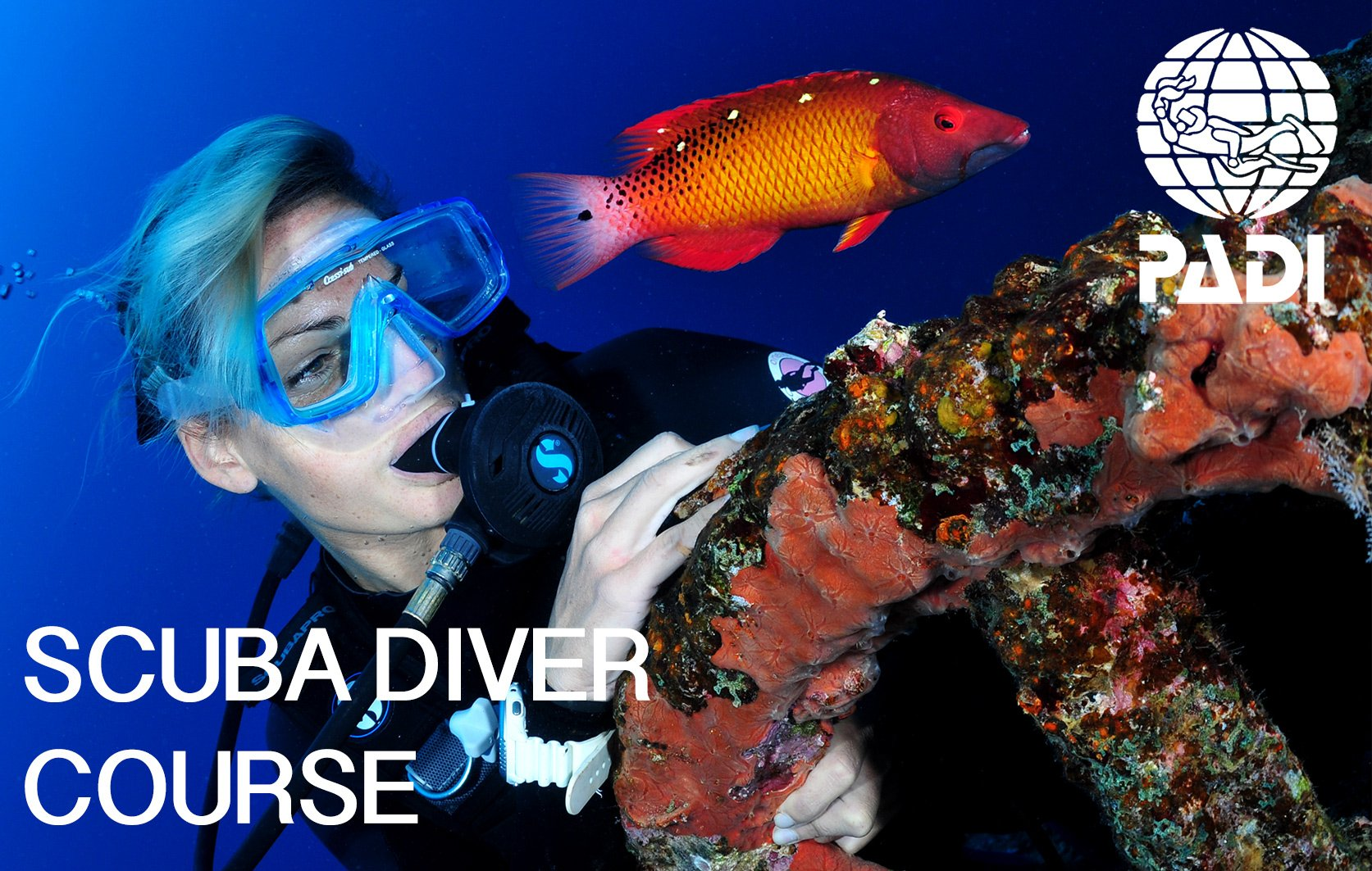 PADI scuba diver course in Mauritius