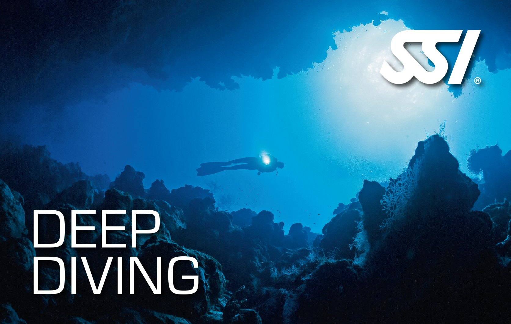 deep diving SSI course in Mauritius