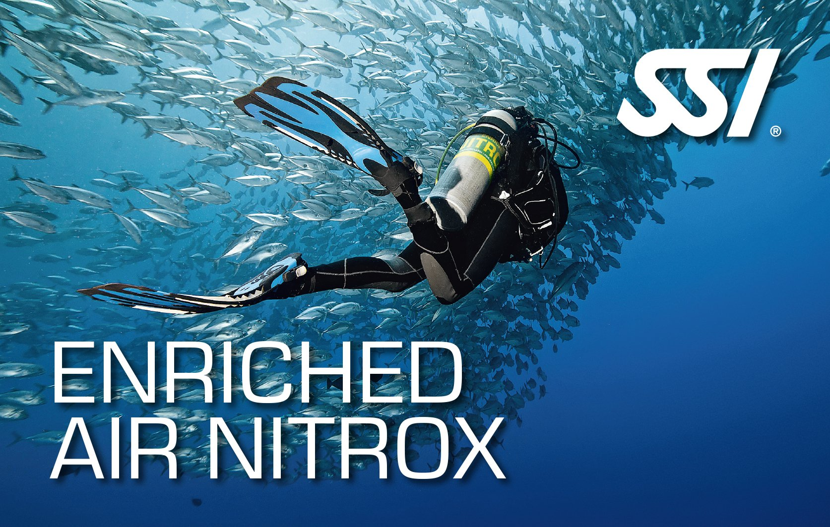 enriched air nitrox Ssi course in Mauritius